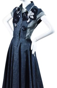 Denim Maxi Dress by Bottega Veneta