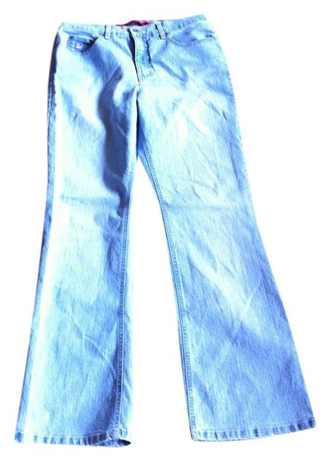 Gloria Vanderbilt Boot Cut Jeans-Light Wash