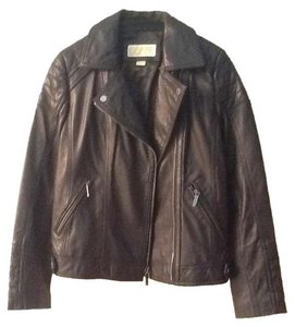 MICHAEL Michael Kors Leather Moto Style Leather New Motorcycle Jacket