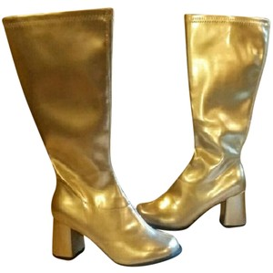 Ellie Shoes Gold Boots