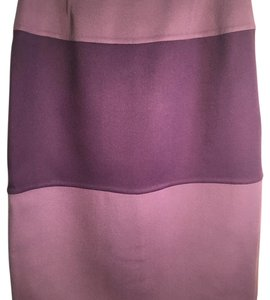 Valentino Skirt Two shades of purple