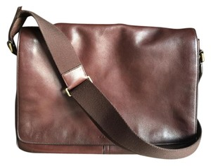 Coach Leather Brown Messenger Bag