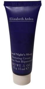 Elizabeth Arden New Good Night's Sleep Restoring Cream Travel size 0.5 oz.