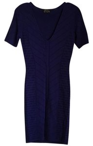 Torn by Ronny Kobo Knit V-neck Dress