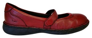 B.O.C. Leather Red Flats