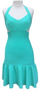 Guess short dress Green Pop on Tradesy