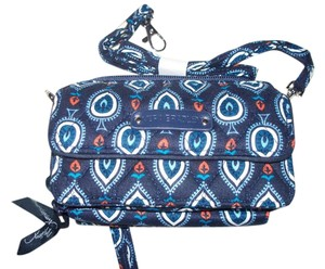 Vera Bradley NWT Marrakesh Motifs Vera Bradley All in One Cross Body Wallet Hipster