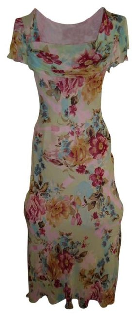 Preload https://item1.tradesy.com/images/newport-news-green-wfloral-print-rayon-crepe-long-night-out-dress-size-14-l-173040-0-0.jpg?width=400&height=650