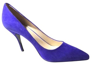 Nine West Suede Classic Royal Blue Pumps