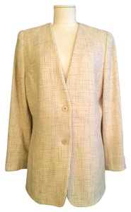 Doncaster Single breasted 2 button jacket in honey tweed