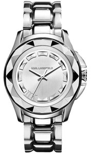 Karl Lagerfeld Karl Lagerfeld Women's 7 Silver Tone Stainless Steel Watch KL1005