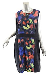 St. John short dress Multi Color St Stretch Silk on Tradesy