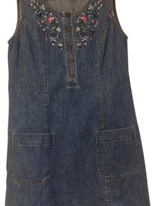 Liz Claiborne short dress Denim on Tradesy