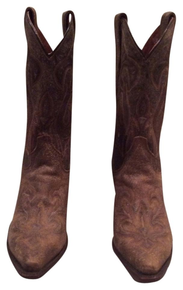 Dan Post Brown Boots Brown Post Style #3247 Boots/Booties 1ee2d1