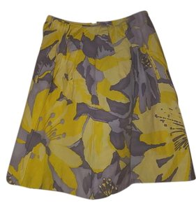 Martin + Osa Skirt Yellow/grey
