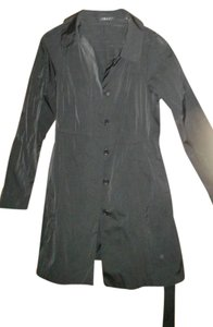 Theory Trench Tie Waist Almost New Trench Coat