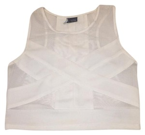 Sparkle & Fade Top White