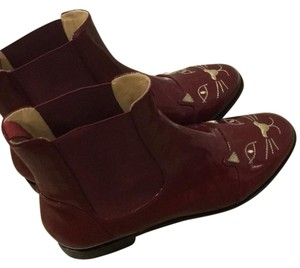 Charlotte Olympia Red/wine Boots
