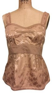 Marc by Marc Jacobs Flirty Floral Top Tan