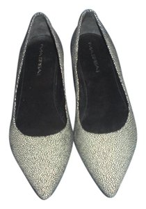 Via Spiga Black/white Flats