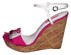 Betsey Johnson Pink Wedges