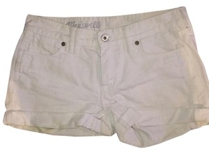 Madewell Cuffed Shorts White