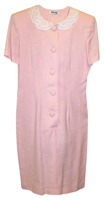 Preload https://item2.tradesy.com/images/soft-pink-some-photos-appear-brighter-pink-than-it-is-knee-length-workoffice-dress-size-petite-6-s-1730856-0-2.jpg?width=400&height=650