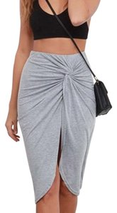 Lulu*s Skirt Grey