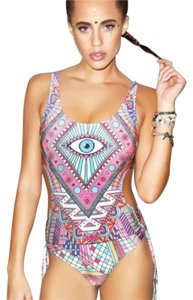 Wildfox Wildfox Couture Third Eye Cut-Out Ruched Monokini