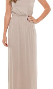 Taupe Maxi Dress by Coveted Clothing