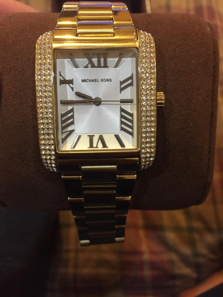 michael kors gold plated watch 30 off michael kors