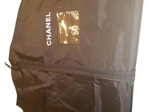 Chanel Chanel Blk Nylon Travel Garment Bag
