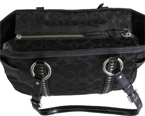 Coach Purse Hobo Satchel Tote in Black