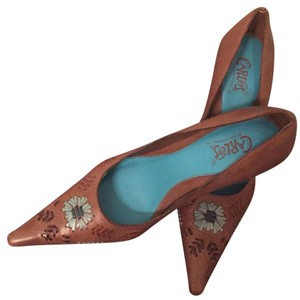 Carlos by Carlos Santana Tan Platforms