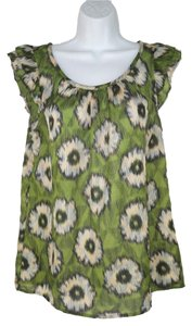 Anthropologie Floral Summer Edme & Esyllte Top