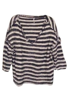 Free People Striped Striped Sweater