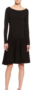 Donna Karan short dress Black Flare on Tradesy