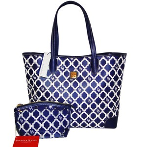 Dooney & Bourke Lois Sanibel Collection Lined Tote in Marine Blue