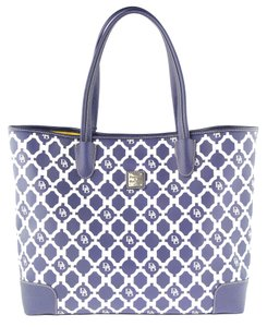 Dooney & Bourke Lois Sanibel Collection Lined Cosmetic Pm729mr Tote in Marine Blue