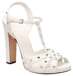 Gucci White Platforms