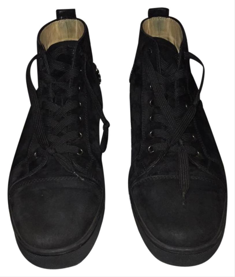Sneakers Sneakers Christian Black Christian Louboutin Black Louboutin Christian Black Sneakers Louboutin qtHWtwngX
