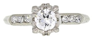 Other Beautiful 18K White Gold Diamond Engagement Ring