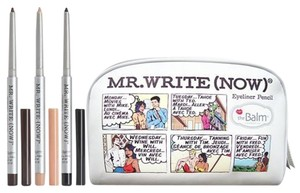 The Balm The Balm MR. WRITE NOW 3-pc. EYE PENCIL & BAG - NIB - $66.00