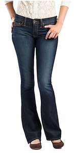 Lucky Brand Size 25 Sofia Boot Cut Jeans-Dark Rinse