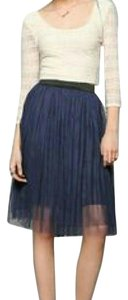 Urban Outfitters Navy Tutu Skirt Blue