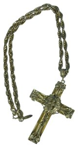 Whiting & Davis Whiting & Davis Vintage Etruscan-style Cross