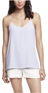 Express Grey Gray Rose Reversible Top Pink