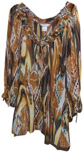 Peter Nygard Top multi colored