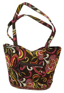 Vera Bradley Matching Quilted Purse Tote in Multi Colored