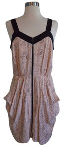 BCBGeneration short dress Peach and Black on Tradesy